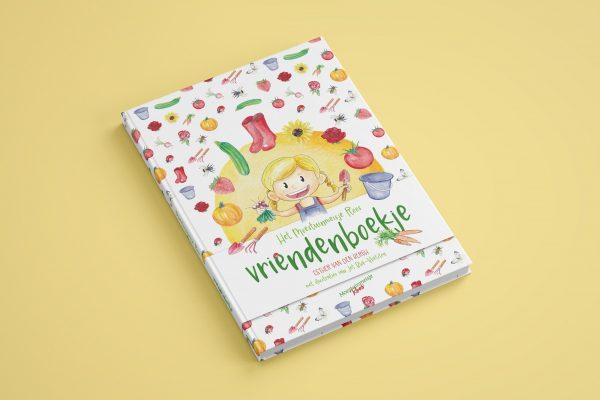 Vriendenboekje Moestuinmeisje Roos - Back to School!