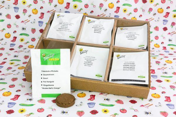 Buzzy® Complete Mini Kweekset Eetbare Bloemen