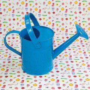 Kindergieter blauw - Moestuinmeisje Roos