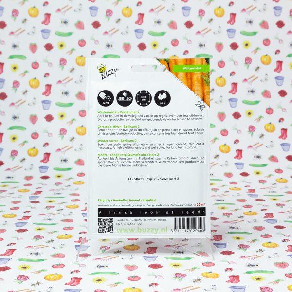 Buzzy® Winterwortel Berlikumer 2