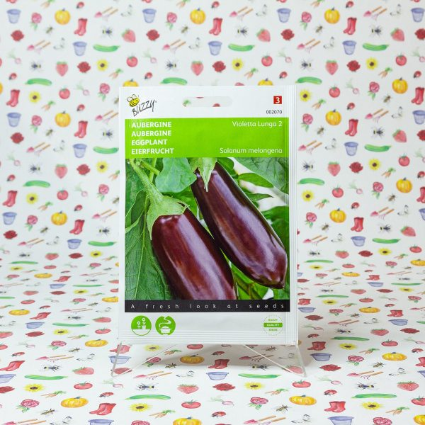 Buzzy® Aubergine Violetta Lunga 2