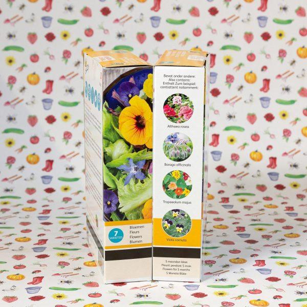 Eetbare bloemen bloemenmengsel - Buzzy Friendly flowers