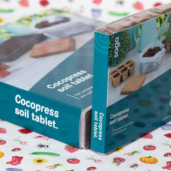 SOGO Cocos tablet 18x18 10L en 10x10 1L