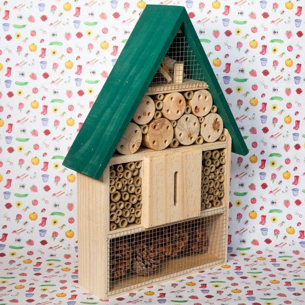 Home Insecten Hotel Groen 39.5cm