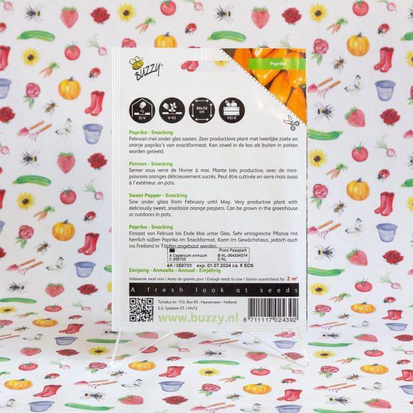 Snackpaprika - Buzzy® Paprika Snacking mini Oranje Naranja