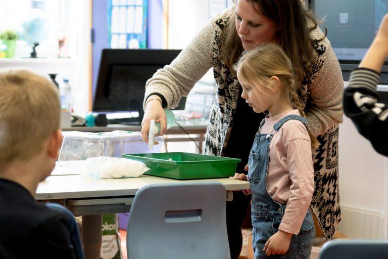 Gastles Moestuin op de basisschool of kinderdagverblijf