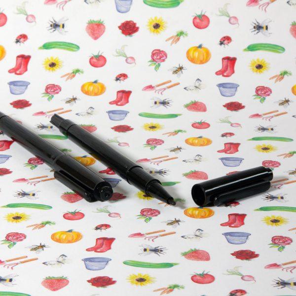 Watervaste marker voor tuinetiketten en plantenlabels